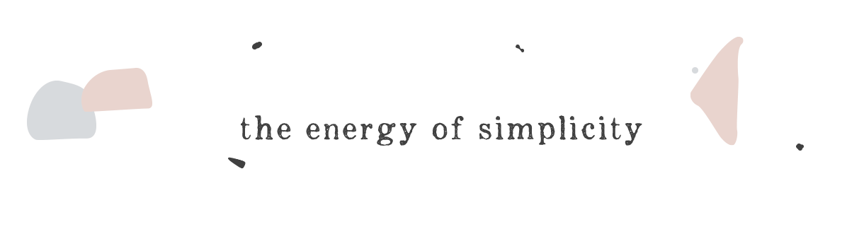 the energy of simplicity